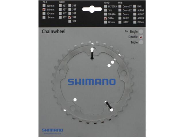 Shimano Sora FC-3450 Kettingblad 9-voudig, silver